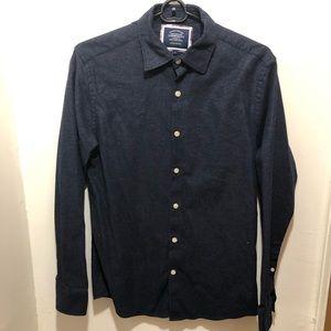 Charles Tyrwhitt casual textured stretch shirt